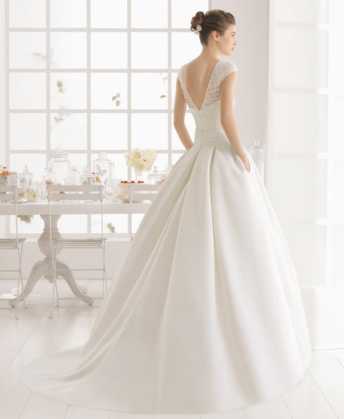 Vestido de novia Aire Barcelona Miel