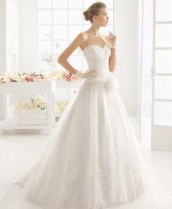 Aire Barcelona Mimosa wedding dress