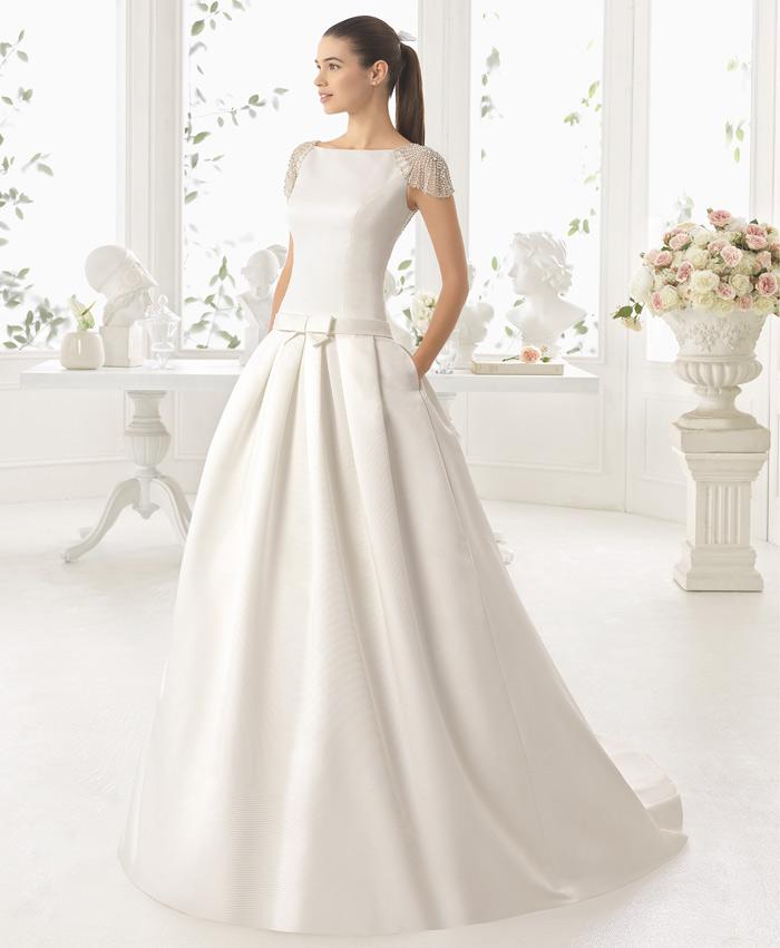 Vestidos novia bonitos barcelona