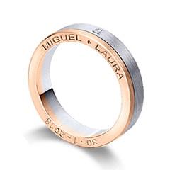 Maiter 07783BR1C Wedding Ring