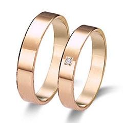 Maiter 06314RO1C Wedding Rings