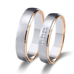 Maiter 06626BR3C Wedding Rings