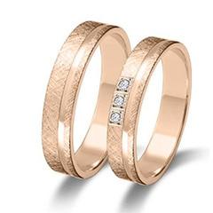 Maiter 06627RO3C Wedding Rings