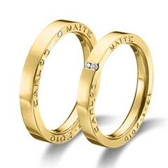 Maiter 06757AM Wedding Rings