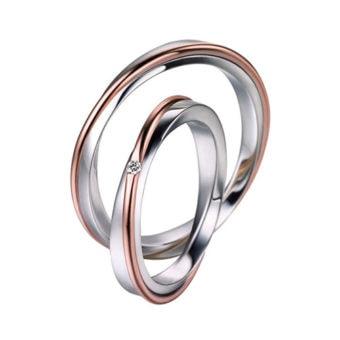 Alianzas de boda Polello 2502UBR-DBR
