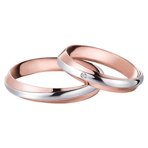Alianzas de boda Polello 2547UBR-DBR
