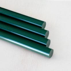 Barras de lacre verde inglés