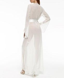 Long chiffon robe Ivette Heritage
