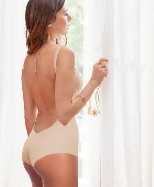 Body nude con espalda al aire Ivette Heritage