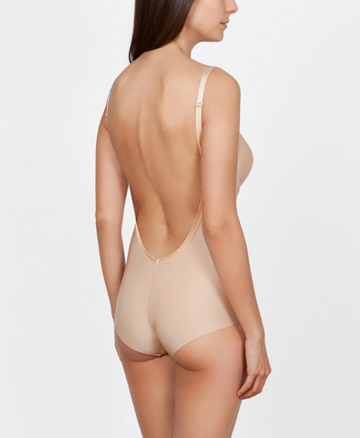 Body sin espalda color nude Ivette Heritage 38030