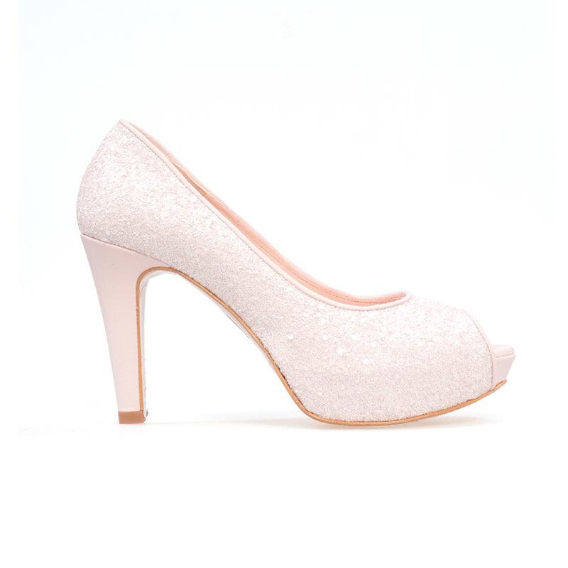 Doriani 3633-9 en glitter rosa
