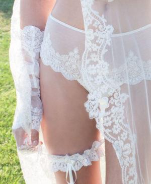 Liga de novia Heritage de Ivette