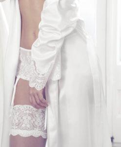 Media de novia Heritage de Ivette