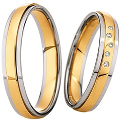 Alianzas de boda Saint Maurice Light 49/87062 | 49/87063