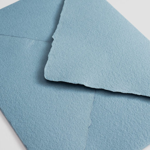 Sobre artesanal azul vassareli
