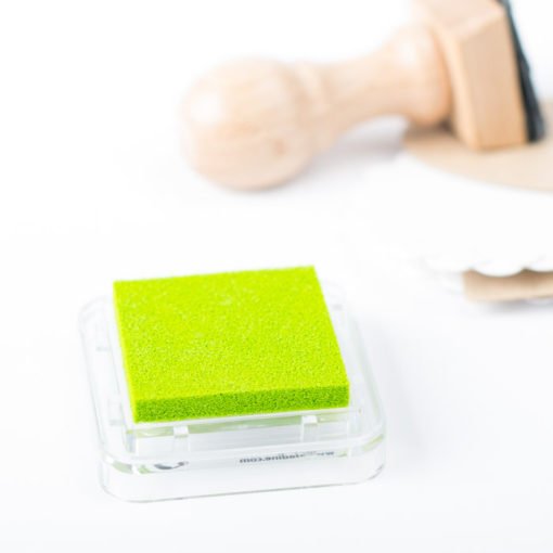 Tampón de tinta para sellos personalizados color limón