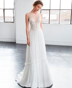 Vestido de novia Inmaculada García Berilo