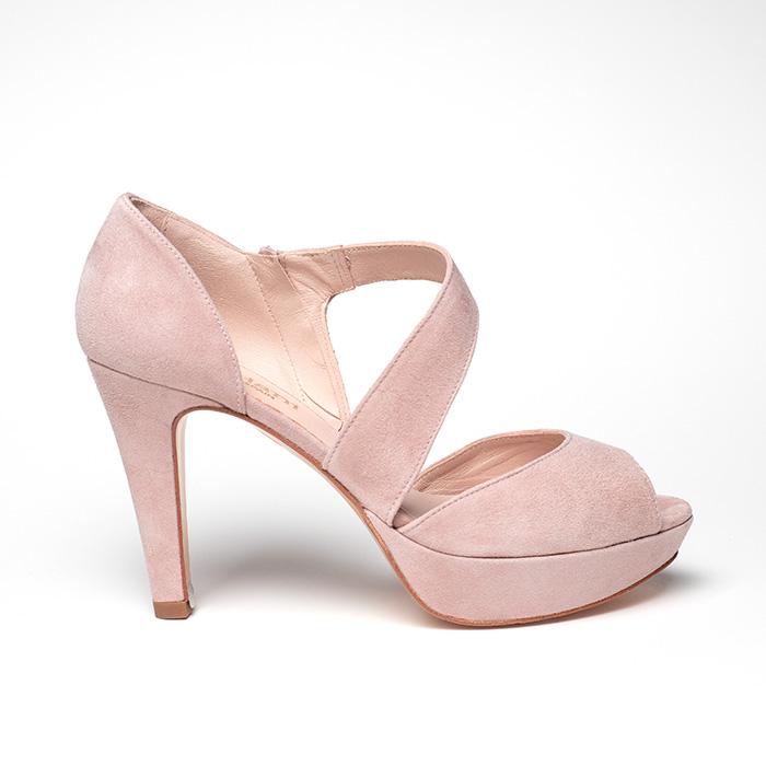 0bed67fc Zapatos Doriani 3561 en ante rosa – Pattuka