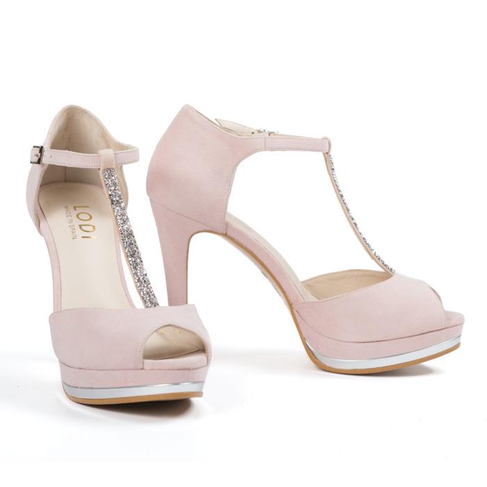 zapatos de novia lodi pauli rosa - pattuka, tienda online