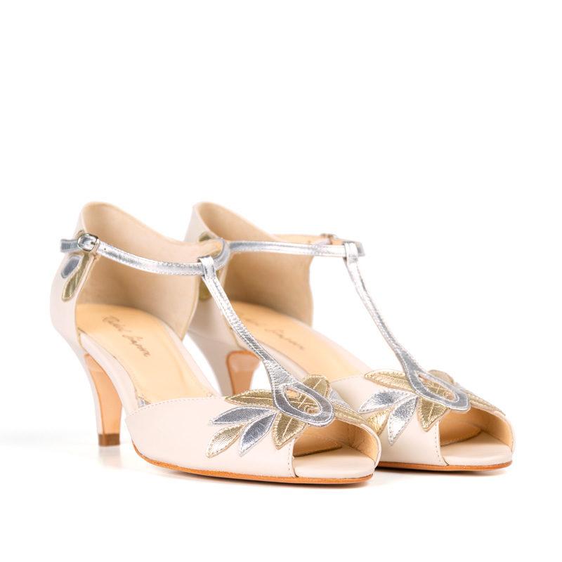 Zapatos de novia Rachel Simpson Isla Ivory