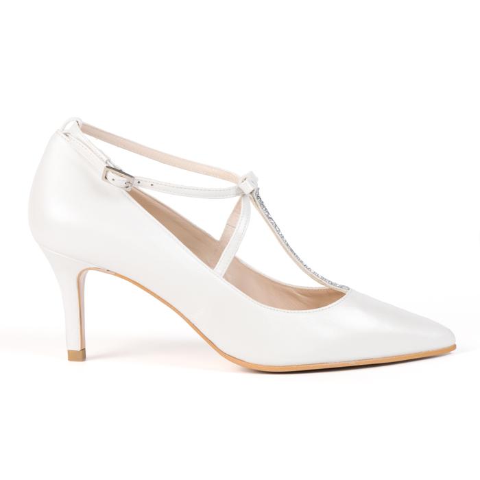 zapatos de novia lodi edilia - pattuka, todo para la novia.