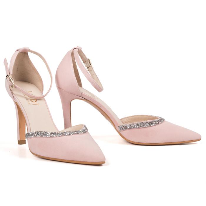 zapatos de novia lodi ramina rosa - pattuka, tienda online
