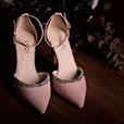 Zapatos de novia LODI Ramina rosa